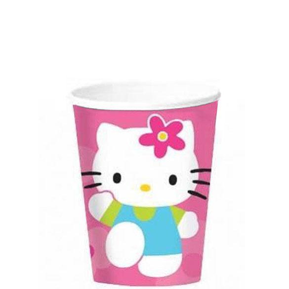 Vasos Hello Kitty 200 ml, Pack 12 u.