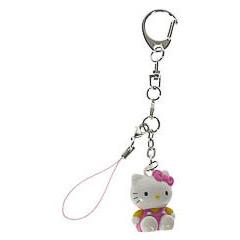 Llavero muñeca Hello Kitty sentada