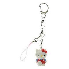 Llavero muñeca Hello Kitty caminando