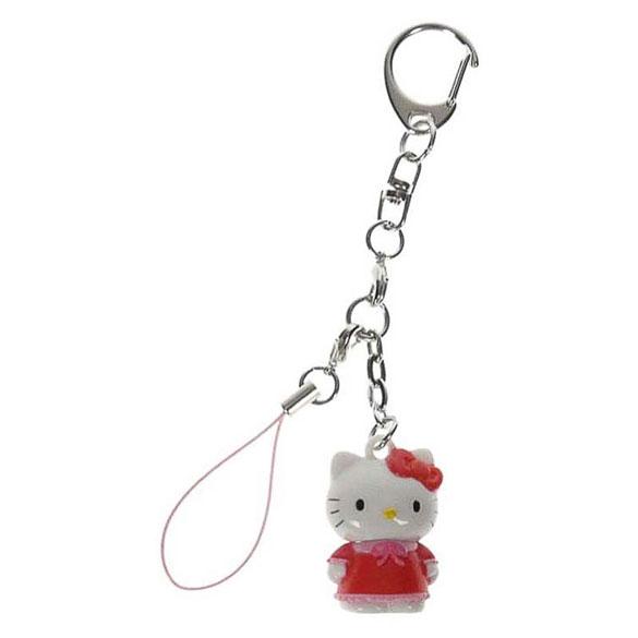 Llavero muñeca Hello Kitty de pie