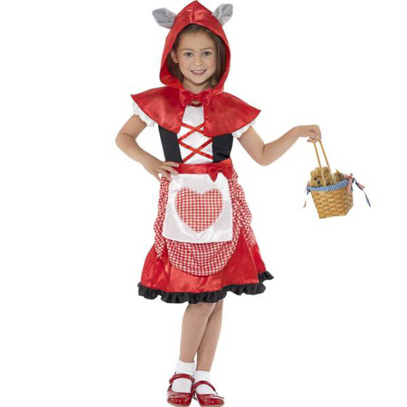 Disfraz caperucita roja infantil
