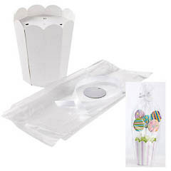 Maceta pops Wilton, Set 8 u.