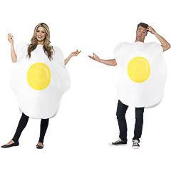 Disfraz huevo frito