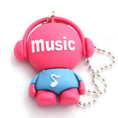 Memoria USB music 8GB