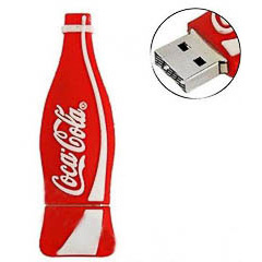 Memoria USB botella Coca Cola 8GB