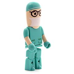 Memoria USB enfermero/médico cirujano 32GB