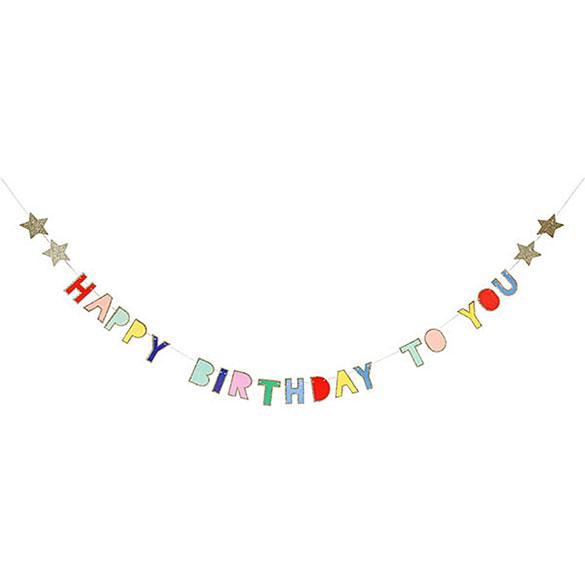 Guirnalda Happy Birthday to You mini