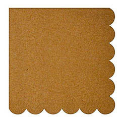 Servilletas color Craft 16,5 x 16,5 cm, Pack 20 u.