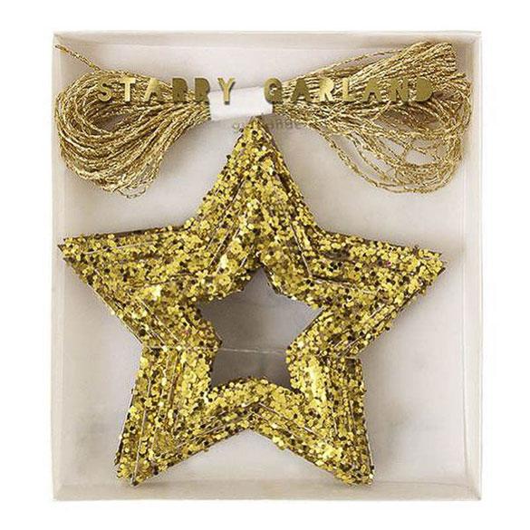 Guirnalda Estrella Metalizada