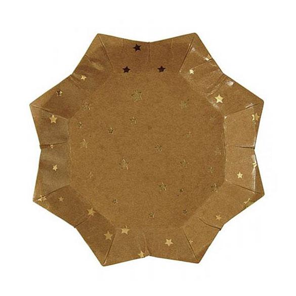 Mini plato forma estrella