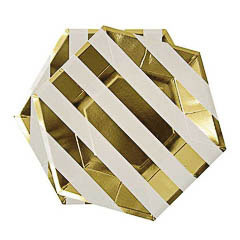 Mini plato forma octogonales