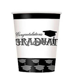 Vasos Graduación 266 ml, Pack 8 u.