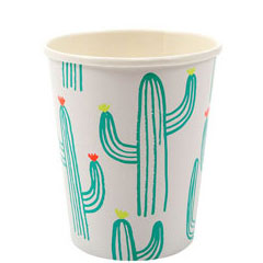 Vasos Cactus 266 ml, Pack 12 u