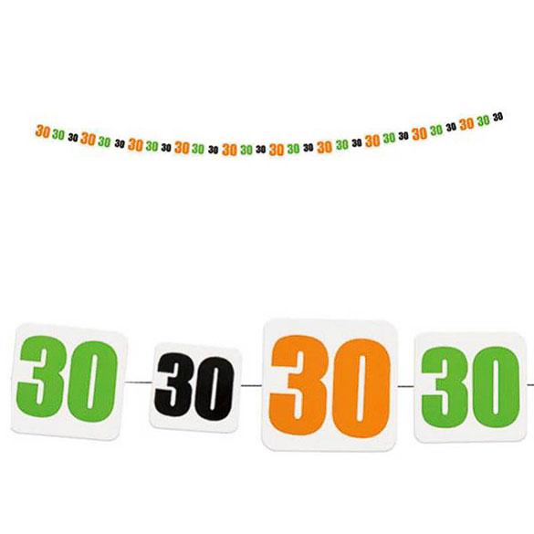 Guirnalda 30 años