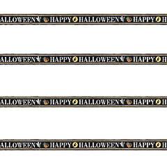 Pancartas Happy Halloween, Pack 4 u.