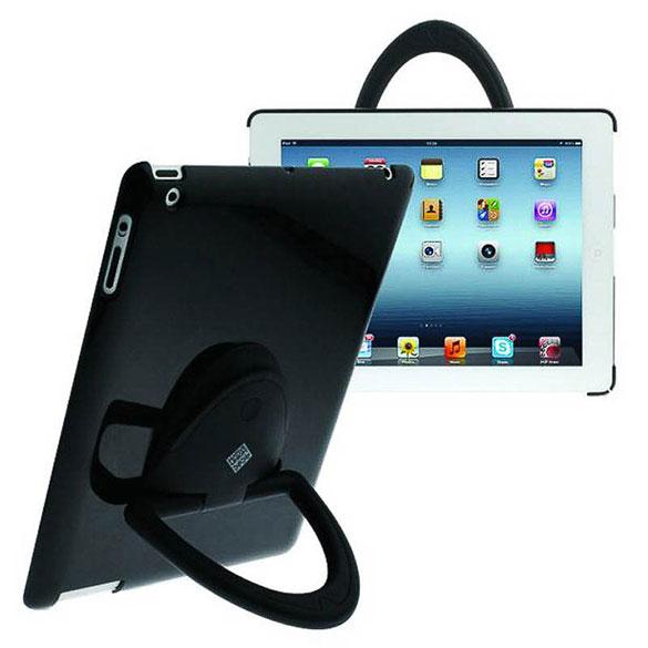 Funda soporte Ipad 2 negra con giro de 360º