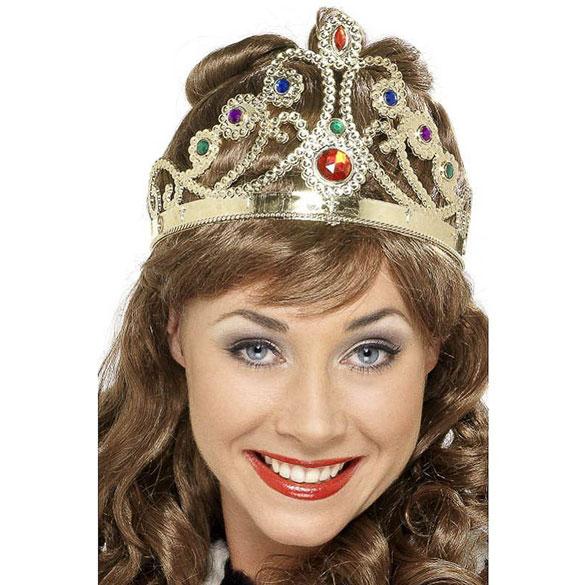 Corona reina de plástico