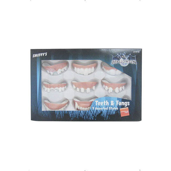 Dentaduras, pack 9 u.