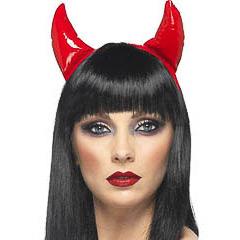 Diadema cuernos diablo
