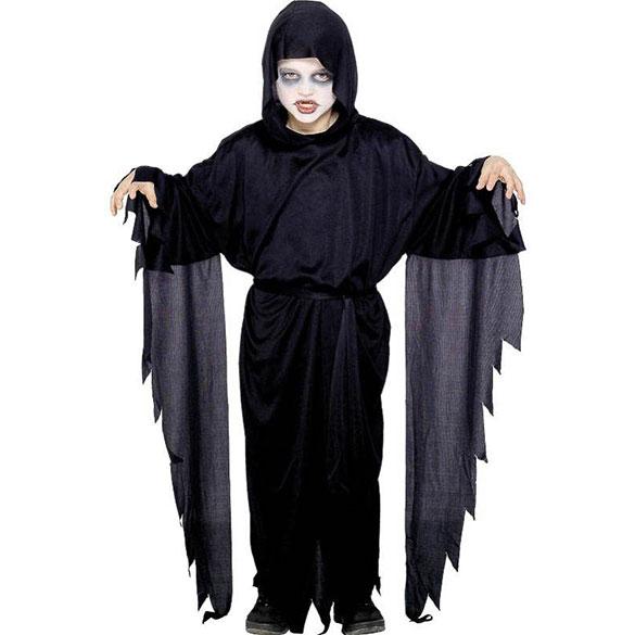 túnica con capucha infantil