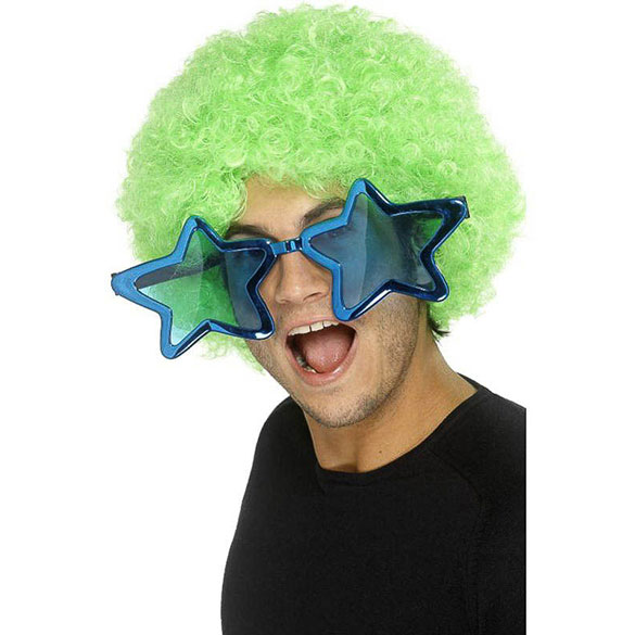 Gafas con forma de estrella gigantes