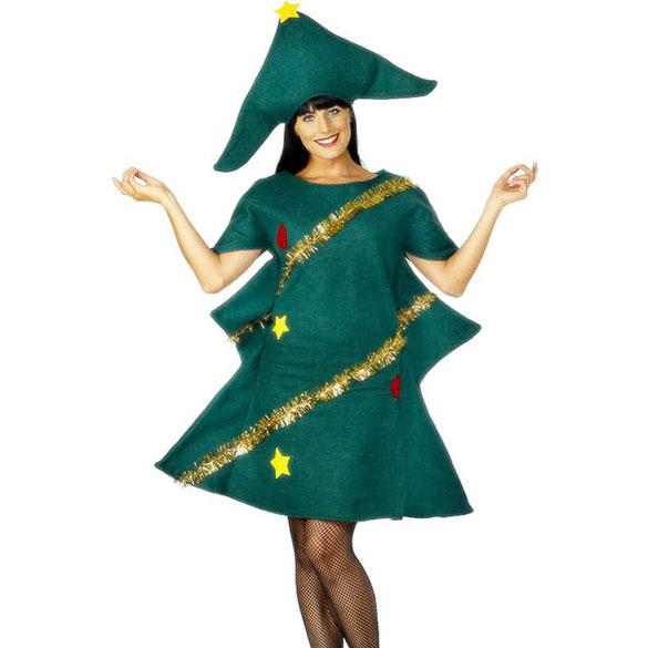 Disfraz de árbol Navidad