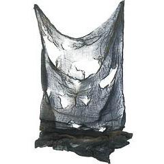Paño negro Halloween espeluznante