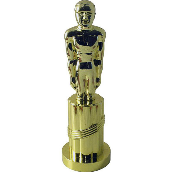 Trofeo hombre dorado