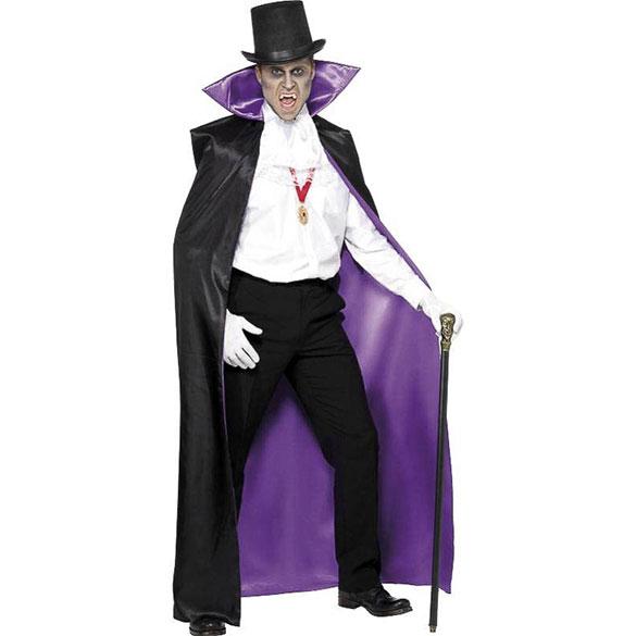 Capa reversible Conde Drácula adulto