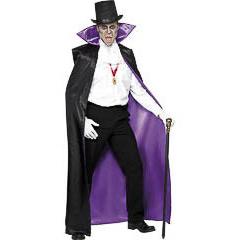 Capa reversible Conde Drácula adulto - Ítem