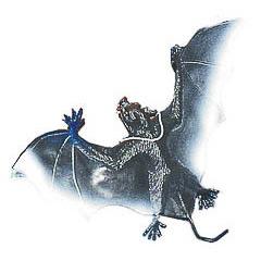 Murciélago de goma Halloween