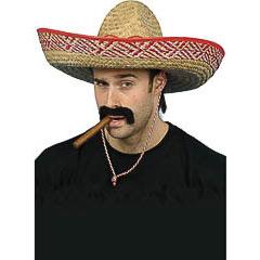 Sombrero mejicano de paja