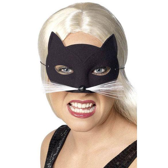 Antifaz gato con bigote