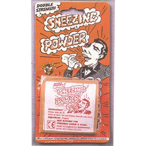 Polvos para estornudar