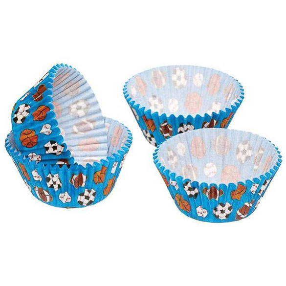 Cápsulas cupcakes Kitchen Craft, Pack 60 u.