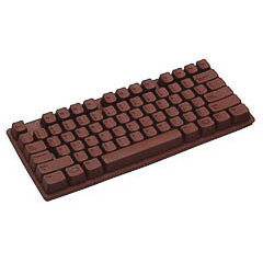 Molde silicona 3D teclado ordenador