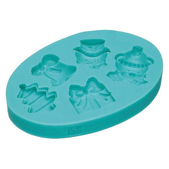 Molde silicona para fondant