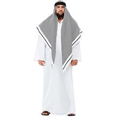 Disfraz Jeque árabe de Lujo