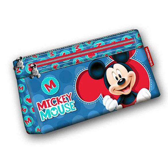 Estuche escolar Mickey Mouse