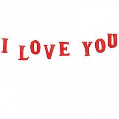 Velas texto I love you