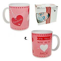 Taza Bébeme una taza llena de mi amor