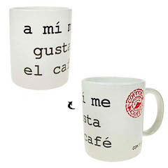 Taza Me gusta el café...