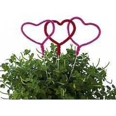 Pinchos decorativos corazones, Pack 5 u.