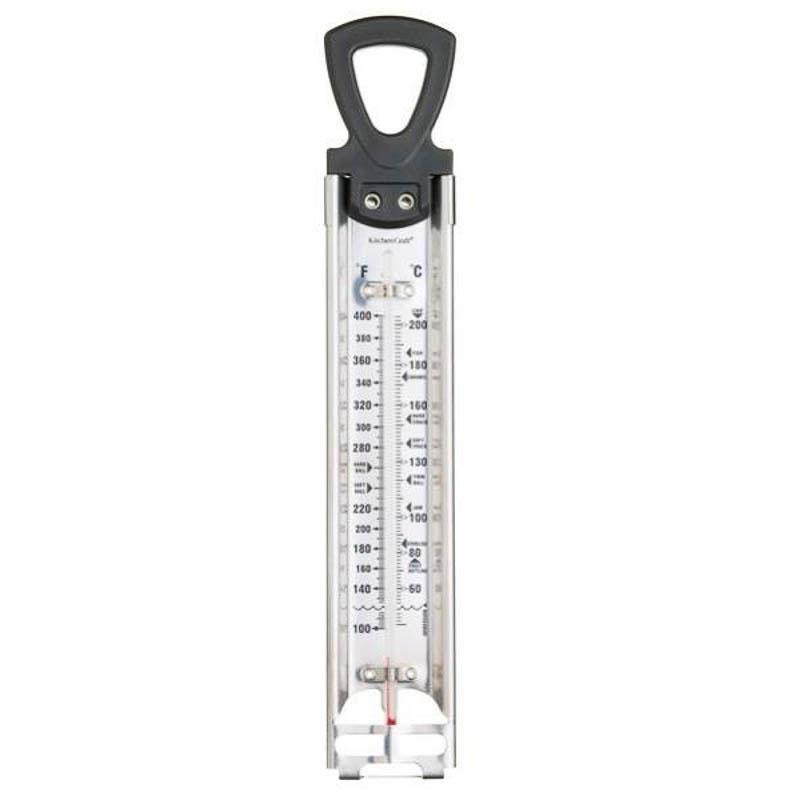 Termómetro de repostería acero inoxidable y cristal