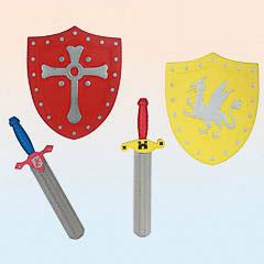 Set espadas y escudos