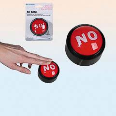 Botón NO. Una forma diferente de decir NO