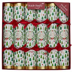 Merry Christmas. Christmas Crackers. 30 cm, Pack 6 u.