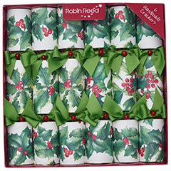 Sherwood. Christmas Crackers. 30 cm, Pack 6 u.