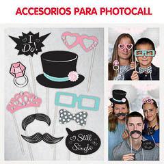 Boda, Accesorios Photocall