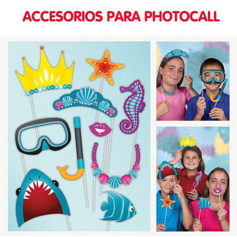 Playa, Accesorios Photocall